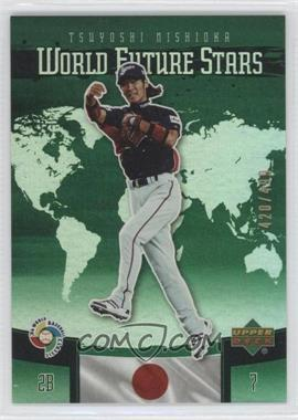 2006 Upper Deck Future Stars World Future Stars Green #WBC-14 - Tsuyoshi Nishioka /499