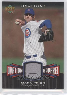 2006 Upper Deck Ovation Ovation Apparel #OA-MP - Mark Prior