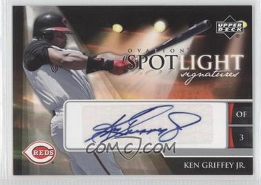 2006 Upper Deck Ovation Spotlight Signatures #SS-KG2 - Ken Griffey Jr.