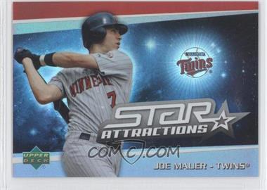 2006 Upper Deck Special F/X - Star Attractions #SA-JM - Joe Mauer