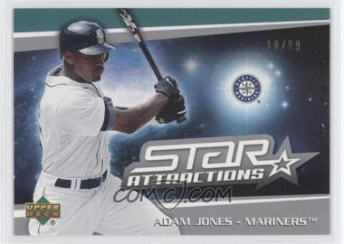 2006 Upper Deck Star Attractions Silver #SA-AJ - Adam Jones /99
