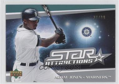 2006 Upper Deck Star Attractions Silver #SA-AJ - Adam Jones /99