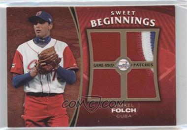 2006 Upper Deck Sweet Spot Update - Sweet Beginnings Swatches - Patches #SW-MF - Maikel Folch