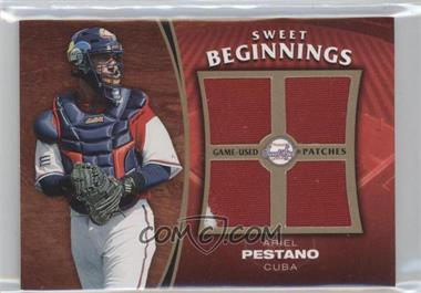 2006 Upper Deck Sweet Spot Update Sweet Beginnings Swatches Patches #SW-AP - Ariel Pestano