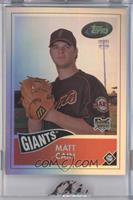 Matt Cain /921 [ENCASED]