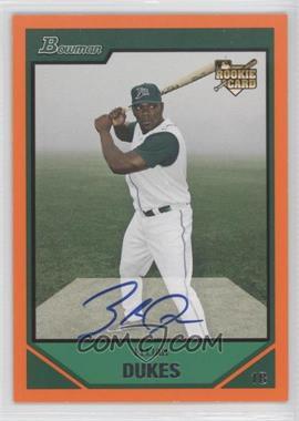 2007 Bowman - [Base] - Orange #235 - Elijah Dukes /250