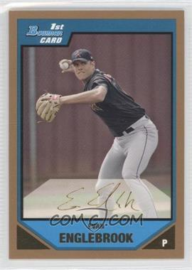 2007 Bowman - Prospects - Gold #BP104 - Evan Englebrook