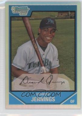 2007 Bowman Chrome - Prospects - Refractor #BC106 - Desmond Jennings /500