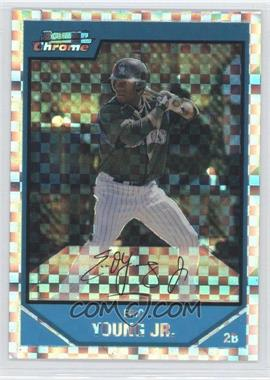 2007 Bowman Chrome - Prospects - X-Fractor #BC120 - Eric Young /250