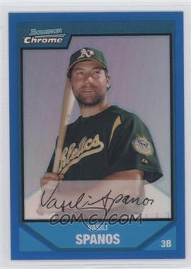 2007 Bowman Chrome Prospects Blue Refractor #BC205 - [Missing] /150