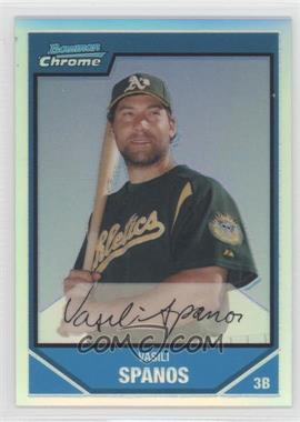 2007 Bowman Chrome Prospects Refractor #BC205 - [Missing] /500