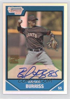 2007 Bowman Chrome Prospects Refractor #BC243 - Emmanuel Burriss /500