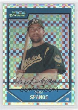2007 Bowman Chrome Prospects X-Fractor #BC205 - [Missing] /250