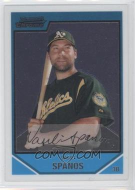 2007 Bowman Chrome Prospects #BC205 - Vasili Spanos
