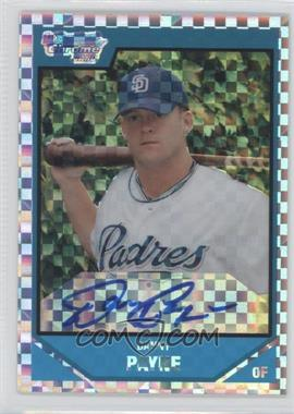 2007 Bowman Draft Picks & Prospects - Chrome Draft Picks - X-Fractor #BDPP139 - Danny Payne /225