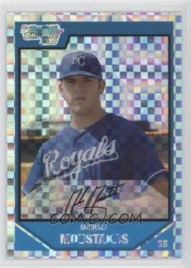 2007 Bowman Draft Picks & Prospects - Chrome Draft Picks - X-Fractor #BDPP53 - Mike Moustakas /299