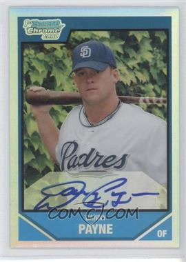 2007 Bowman Draft Picks & Prospects Chrome Draft Picks Refractor #BDPP139 - Danny Payne /500