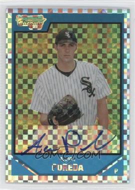 2007 Bowman Draft Picks & Prospects Chrome Draft Picks X-Fractor #BDPP123 - Aaron Poreda /225