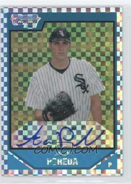 2007 Bowman Draft Picks & Prospects Chrome Draft Picks X-Fractor #BDPP123 - Aaron Poreda /225