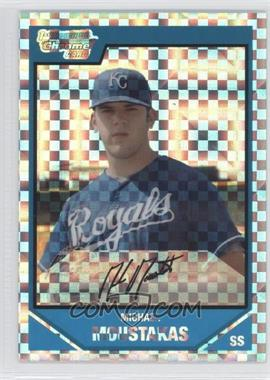 2007 Bowman Draft Picks & Prospects Chrome Draft Picks X-Fractor #BDPP53 - Mike Moustakas /299