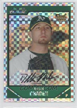 2007 Bowman Draft Picks & Prospects Chrome X-Fractor #BDP35 - Dallas Braden /299