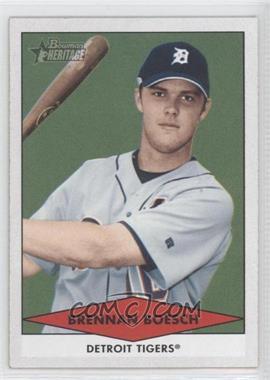 2007 Bowman Heritage Prospects #BHP37 - Brennan Boesch