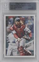 Jason Varitek /1 [BGS AUTHENTIC]