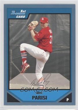 2007 Bowman Prospects Blue #BP102 - Mike Parisi /500
