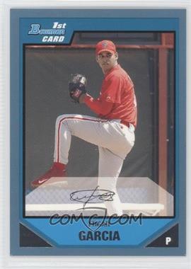 2007 Bowman Prospects Blue #BP48 - Edgar Garcia /500