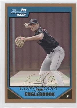 2007 Bowman Prospects Gold #BP104 - Evan Englebrook