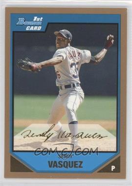 2007 Bowman Prospects Gold #BP105 - Sendy Vasquez