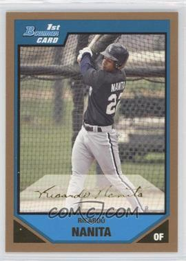 2007 Bowman Prospects Gold #BP82 - Ricardo Nanita
