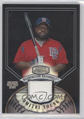 2007 Bowman Sterling - [Base] - Black Refractor #BS-DDY - Dmitri Young /25