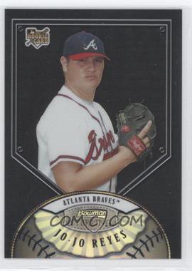 2007 Bowman Sterling - [Base] - Black Refractor #BS-JR - Jo-Jo Reyes /25