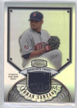 2007 Bowman Sterling - [Base] - Refractor #BS-JS - Johan Santana /199