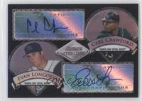 Evan Longoria, Carl Crawford /25