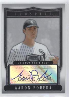 2007 Bowman Sterling - Prospects #BSP-AP - Aaron Poreda