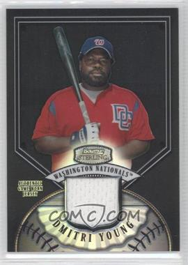 2007 Bowman Sterling Black Refractor #BS-DDY - Dmitri Young /25