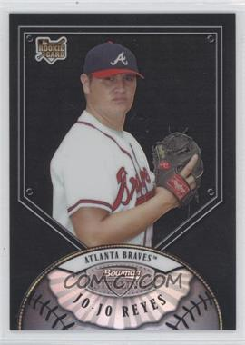 2007 Bowman Sterling Black Refractor #BS-JR - Jo-Jo Reyes /25