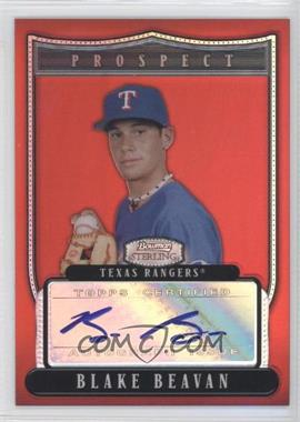 2007 Bowman Sterling Prospects Red Refractor #BSP-BB - Blake Beavan /1