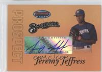 Jeremy Jeffress /50