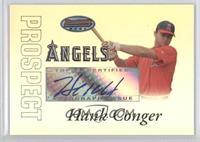 Autograph - Hank Conger