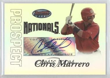 2007 Bowman's Best - Prospects #BBP54 - Autograph - Chris Marrero