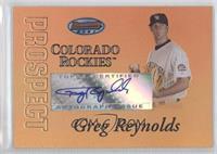 Greg Reynolds /50