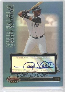 2007 Bowman's Best Blue #26 - Gary Sheffield /99