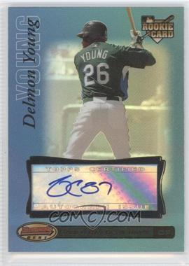2007 Bowman's Best Blue #72 - Delmon Young /99