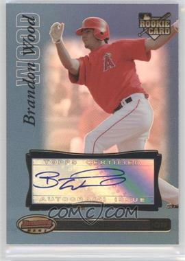 2007 Bowman's Best Blue #73 - Brandon Wood /99