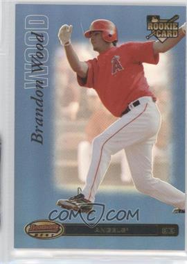 2007 Bowman's Best Blue #73 - Brandon Wood /99