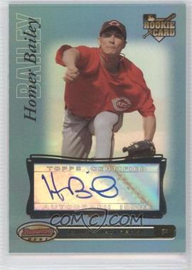 2007 Bowman's Best Blue #94 - Homer Bailey /99
