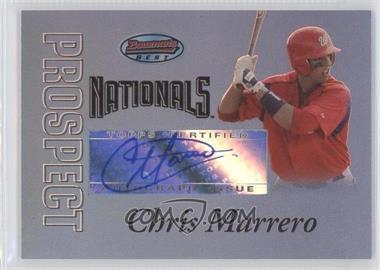 2007 Bowman's Best Prospects Blue #BBP54 - Chris Marrero /99
